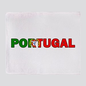 Portugal Throw Blanket