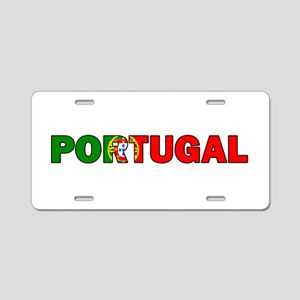Portugal Aluminum License Plate