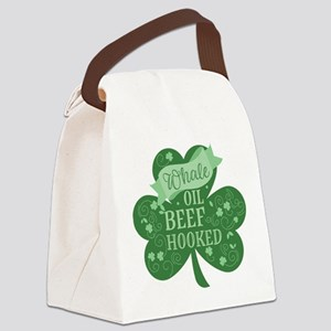 Whale Oil Beef Hooked Canvas Lunch Bag