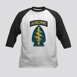 US Army Special Forces Airborne In Baseball Jersey