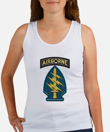 US Army Special Forces Airborne Insignia Tank Top