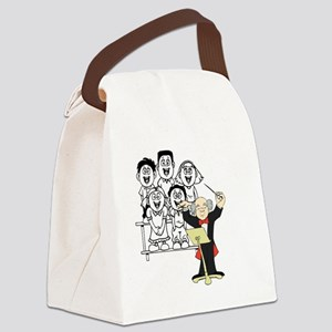 Choir and Director Canvas Lunch Bag