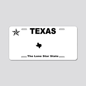 Texas - 2013 The Lone Star Aluminum License Plate