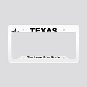 Texas - 2013 The Lone Star St License Plate Holder