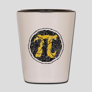 Shattered-Flavored Pi  Shot Glass