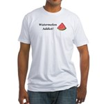 Watermelon Addict Fitted T-Shirt