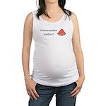 Watermelon Addict Maternity Tank Top