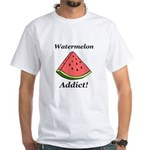 Watermelon Addict White T-Shirt