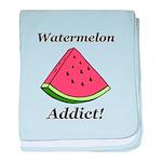 Watermelon Addict baby blanket
