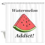 Watermelon Addict Shower Curtain