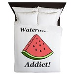 Watermelon Addict Queen Duvet