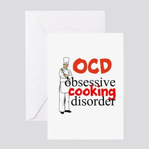 Cooking Disorder Greeting Cards