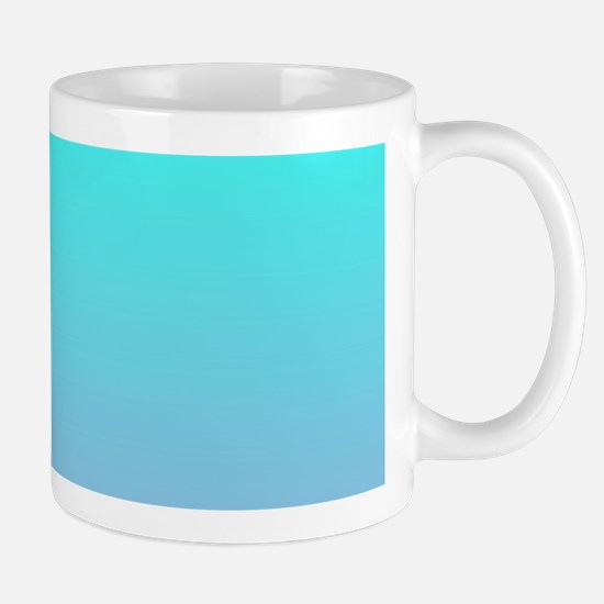 pink turquoise ombre Mug