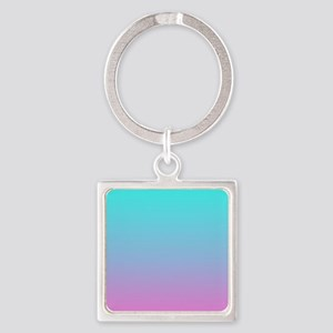 pink turquoise ombre Keychains