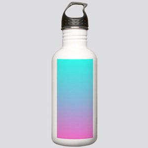 pink turquoise ombre Stainless Water Bottle 1.0L