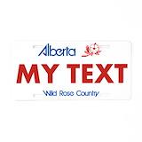 Alberta License Plates