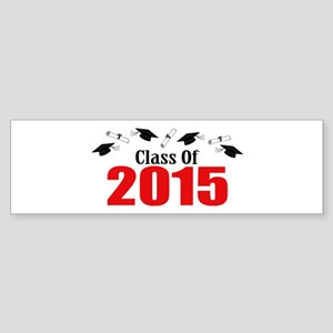 Class Of 2015 (Red Caps And Diplo Sticker (Bumper)
