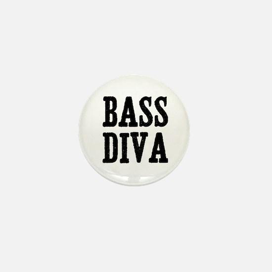 bass diva Mini Button