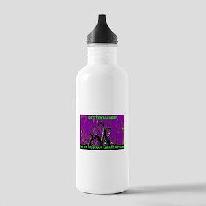 purple tentacles Water Bottle