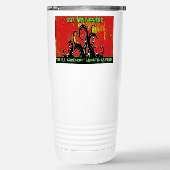 Got Tentacles Red Travel Mug