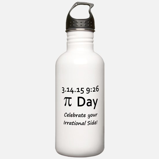 Pi Day 2015 Water Bottle