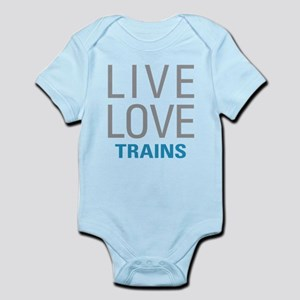 Live Love Trains Body Suit