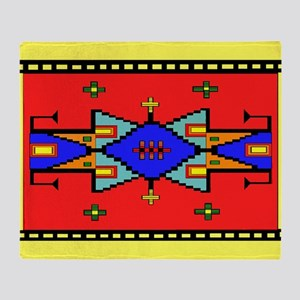 Lakota Dreams Blanket Design Throw Blanket