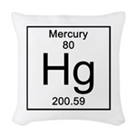 80. Mercury Woven Throw Pillow