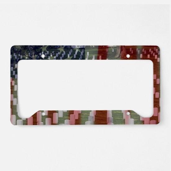 Patriotism License Plate Holder