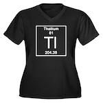 81. Thallium Plus Size T-Shirt