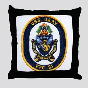 USS GARY Throw Pillow