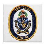 USS GARY Tile Coaster