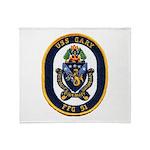 USS GARY Throw Blanket