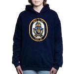 USS GARY Women's Hooded Sweatshirt