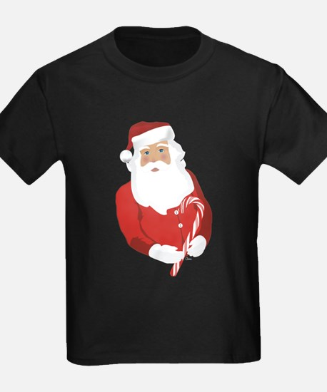 St. Nick with Candy Cane T-Shirt