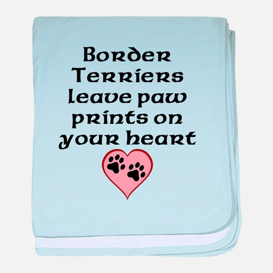 Border Terriers Leave Paw Prints On Your Heart bab