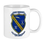 USS BADGER Mug