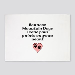 Bernese Mountain Dogs Leave Paw Prints On Your Hea