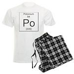 84. Polonium Men's Light Pajamas