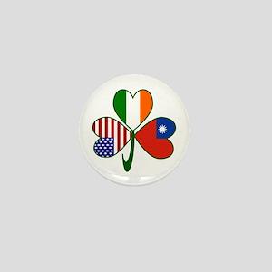 Shamrock of Taiwan China Mini Button