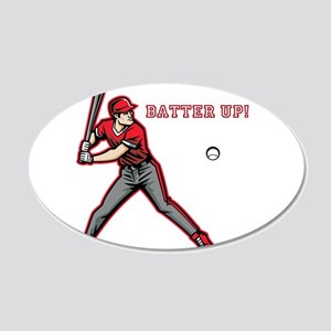 Batter Up! Wall Decal