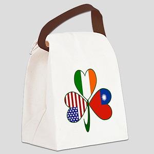 Shamrock of Taiwan China Canvas Lunch Bag