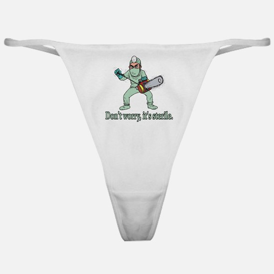 Funny Gifts For Patients Classic Thong