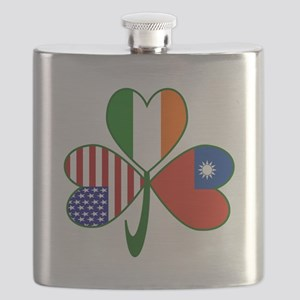 Shamrock of Taiwan China Flask