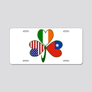 Shamrock of Taiwan China Aluminum License Plate