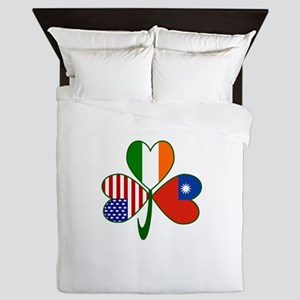 Shamrock of Taiwan China Queen Duvet