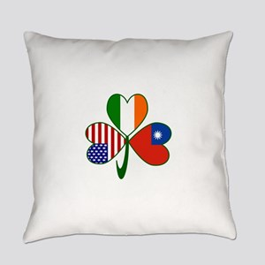 Shamrock Of Taiwan China Everyday Pillow