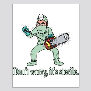 Funny Gifts For Patients Small Poster