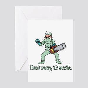 Hospital funny patient greeting cards cafepress funny gifts for patients greeting card m4hsunfo