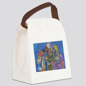 We Three Kings Canvas Lunch Bag
